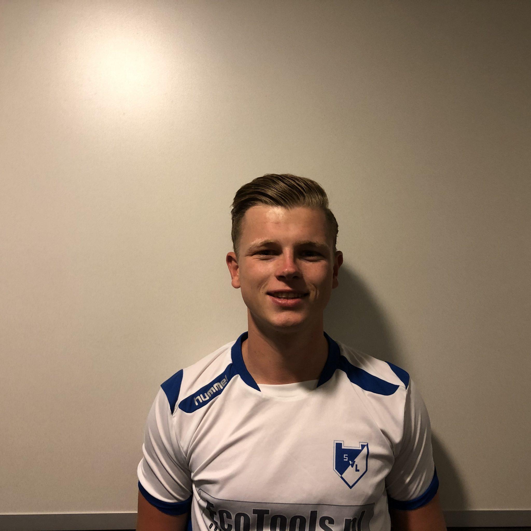 Victor van de Bor blijft bij SVL.